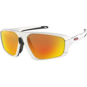 Oakley Field Jacket Sunglasses Matte White/Prizm Ruby
